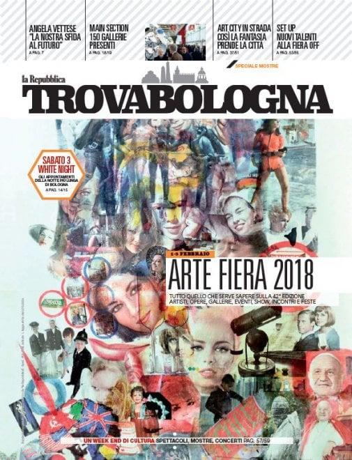 Artefiera, numero speciale del nuovo TrovaBologna gratis giovedì con Repubblica