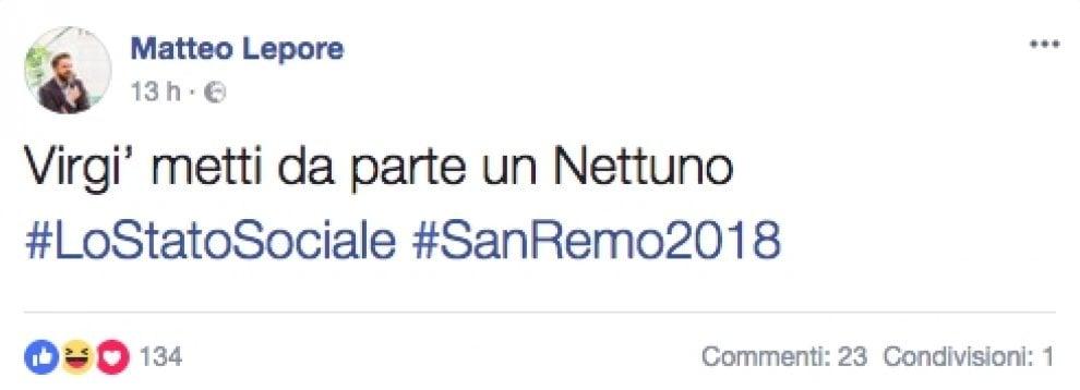 """Sanremo, a Bologna è già """"Lo Stato sociale-mania"""". """"Virginio, prenota un Nettuno d'oro"""""""
