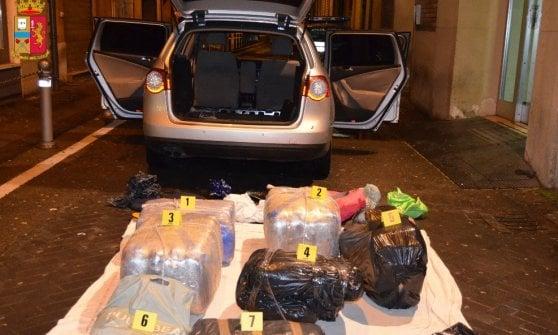 Bologna, sequestrato oltre un quintale di droga