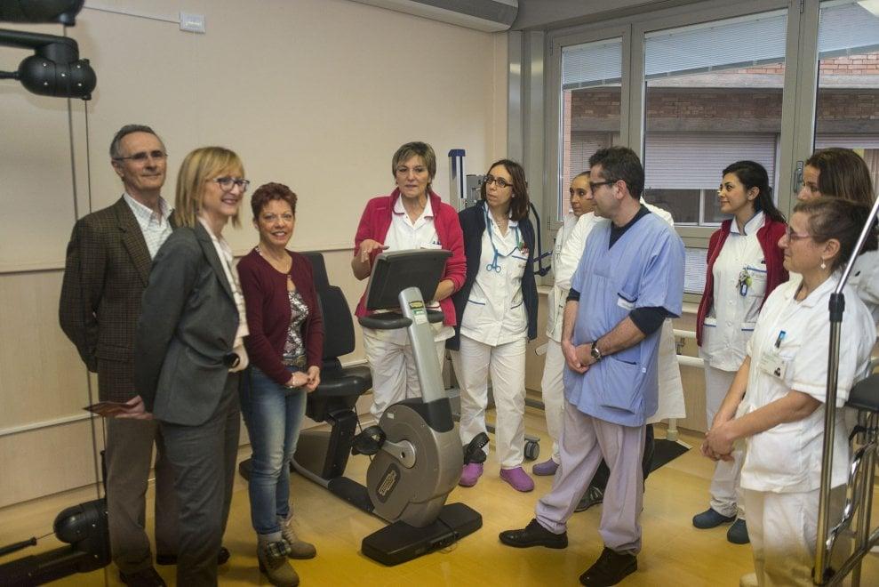 Bologna, al S.Orsola una palestra per i pazienti trapiantati. Nel ricordo di Yuri