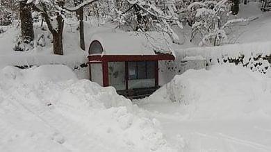Bologna si sveglia sotto la neve