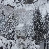 Maltempo, ancora neve in Emilia. In Romagna occhi puntati sui corsi d'acqua
