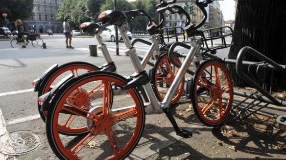 Bike sharing a Bologna, entro l'estate le prime 1000 bici di Mobike