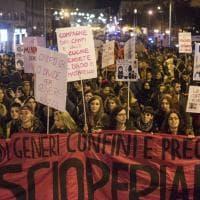 8 marzo, migliaia alla marcia rosa