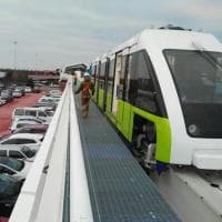People Mover, ecco la prima navetta all'Aeroporto