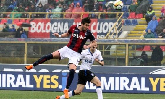 Bologna fischiato, lezione di calcio dell'Atalanta al Dall'Ara: 0-1