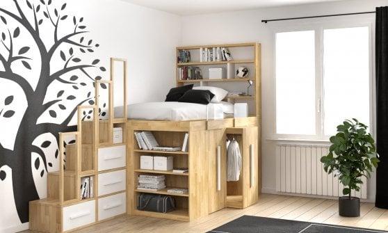 Soluzioni Salvaspazio Per Camera Da Letto : Idee salvaspazio per la casa o l appartamento repubblica