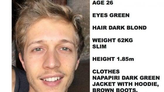 Studente italiano scomparso da una settimana: l'appello della famiglia