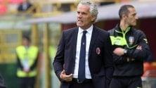 """Calcio, Donadoni: """"Obiettivo 41 punti,  per la dignità e i tifosi"""""""