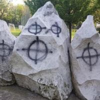 Bologna, ancora un atto vandalico al monumento alla Brigata Maiella