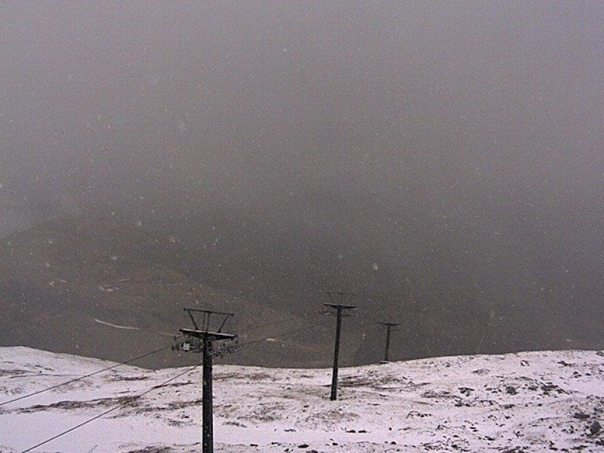 E sul Cimone torna la neve a metà maggio