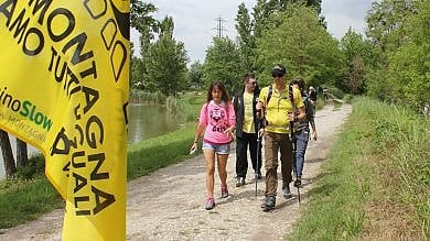 """""""Noi sulla Via degli Dei"""" il primo trekking  per ciechi e ipovedenti"""
