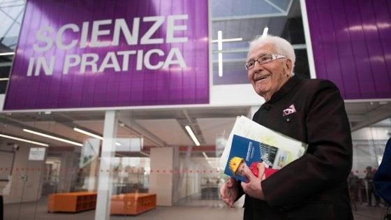 Per Marino Golinelli laurea honoris causa a 98 anni