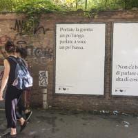 Fuga dalla paura: la street poster art a Bologna svela il tema del Santarcangelo festival