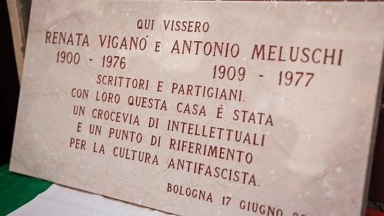 Una targa in via Mascarella per Renata Viganò, partigiana e scrittrice
