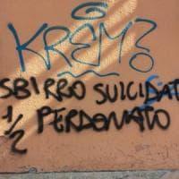 Scritta contro il poliziotto suicida, il pm: