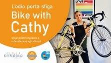 In bici al fianco  di Cathy La Torre