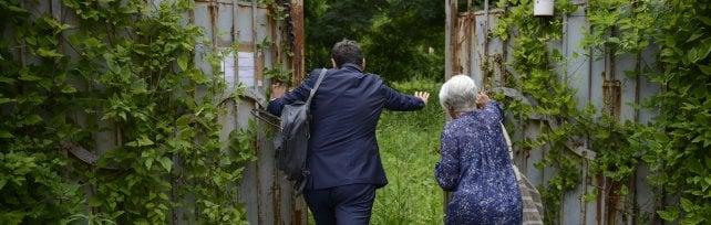 La nuova vita di villa Celestini  Foto   confiscata alla mafia, accoglierà sfrattati