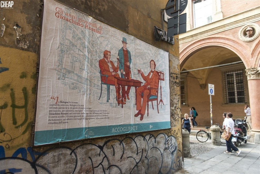 Rossini, Mozart, Wagner e gli altri: i grandi compositori rivivono su carta per celebrare il Comunale di Bologna