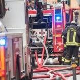 Paura in Corte Isolani, ristorante a fuoco
