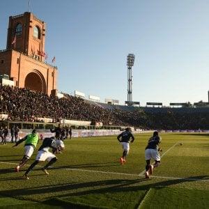 Il Bologna ha presentato il nuovo Dall'Ara al Comune