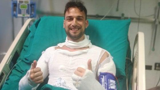 """Bologna, il poliziotto eroe che ha bloccato il traffico: """"Non siamo Rambo, il primo pensiero era salvare vite"""""""