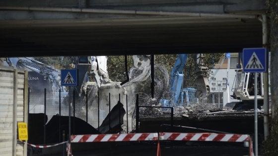 Esplosione a Bologna: il ponte sarà riaperto a ottobre