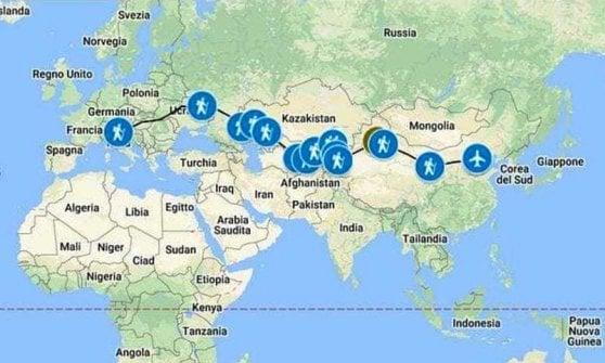 A piedi sino a Pechino: il lungo viaggio dell'antropologo laureato a Bologna