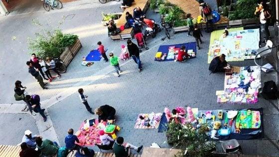 Bimbincittà: il mercatino dei bambini