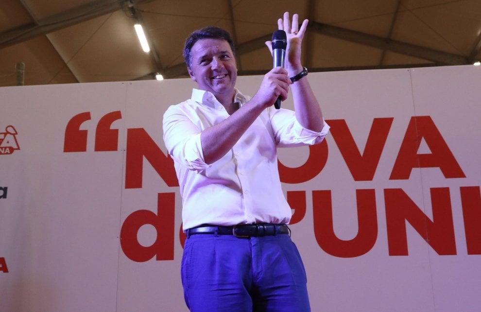 "Renzi show alla Festa Unità: ""Matteo càndidati!"""