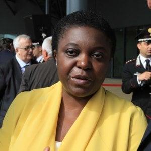 """""""Lega razzista"""": Kyenge processata a Piacenza"""