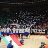 PalaDozza super l'Italia, e stasera derby