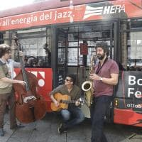 Bologna, ecco gli autobus del Jazz