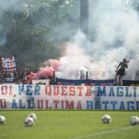 """Gli ultras del Bologna: """"Con voi fino all'ultima battaglia"""""""
