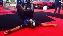 Incredibile record  mondiale Ironman