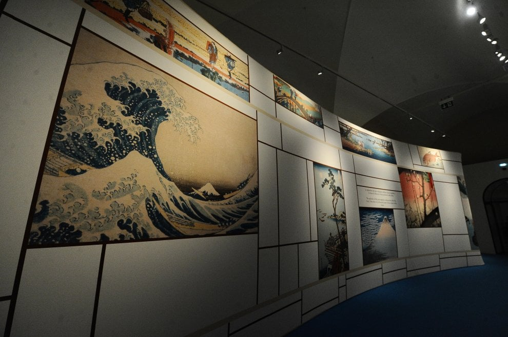 Il monte Fuji e la grande onda: Hokusai e Hiroshige, i maestri dell'arte giapponese a Bologna