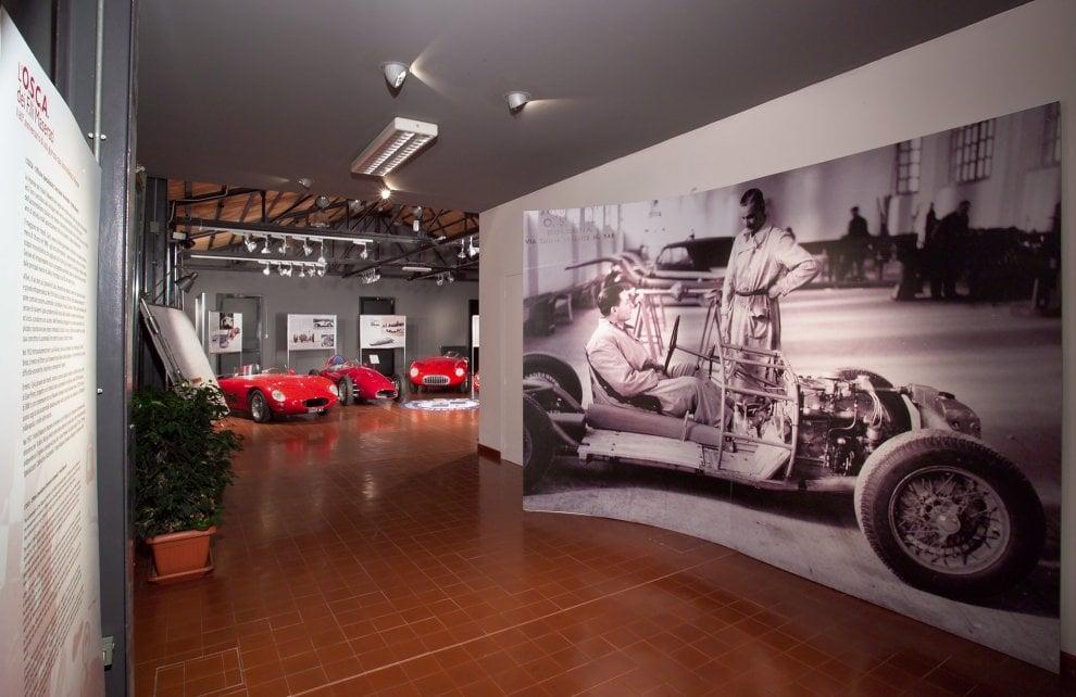 L'epopea della Maserati raccontata al museo del Patrimonio industriale di Bologna