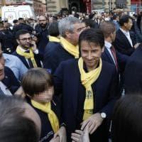"""Il premier Conte a Bologna per """"Io non rischio"""", la campagna della Protezione civile"""