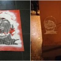 Bologna, writer sorpreso in azione al Pratello