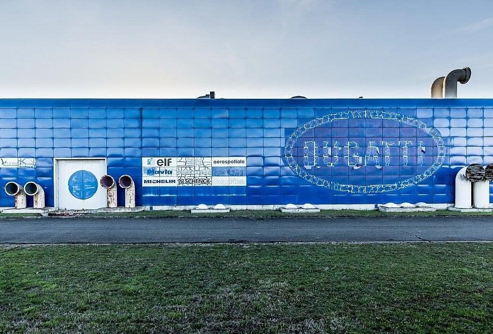 La Fabbrica Blu di Campogalliano. Cosa resta del sogno Bugatti