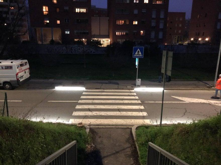 Led e risparmio energetico, arrivano a Bologna le strisce pedonali intelligenti