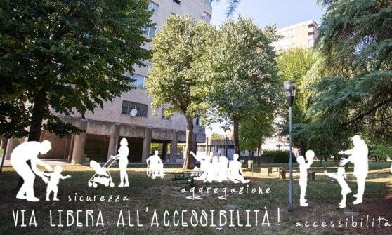 Bologna, il quartiere Borgo Panigale-Reno chiede parchi più inclusivi e attrezzati