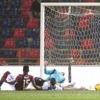 Mbaye illude subito il Bologna, ma l'Atalanta sorpassa: 1-2