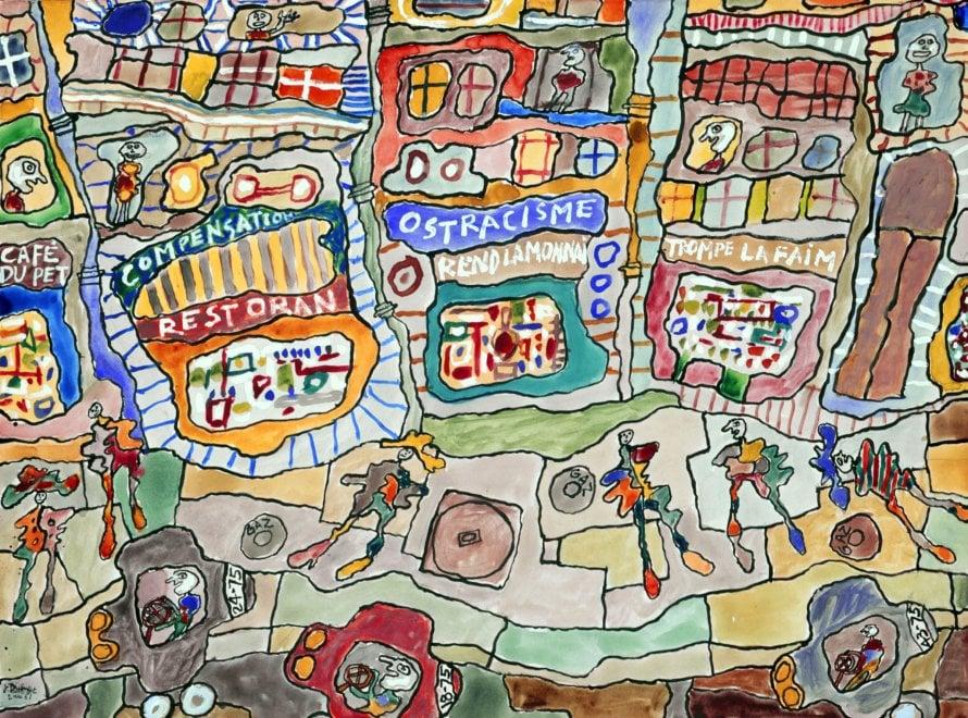 """A Reggio Emilia """"Jean Dubuffet, l'arte in gioco. Materia e spirito 1943-1985"""""""