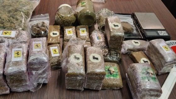 Bologna, in casa ha quattro chili di droga: 23enne in manette