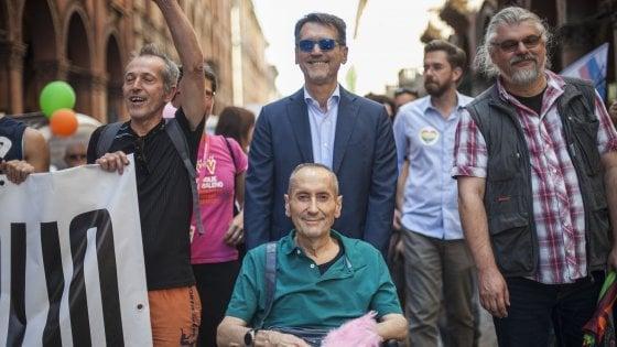 """""""Senza di lui l'Italia sarebbe un Paese peggiore"""": Bologna omaggia Franco Grillini"""
