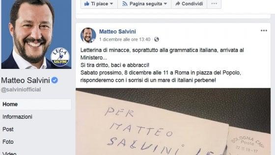Auguri Di Natale In Albanese.Bologna La Prof Albanese Corregge Salvini Quelle Minacce Non Sono