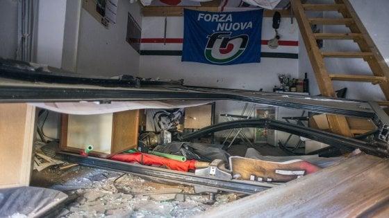 Bologne, une bombe contre le siège de Forza Nuova