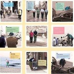 Da Bologna arriva il calendario degli Umarells: ogni mese un cantiere