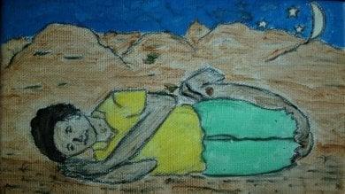 """Il deserto, le prigioni in Libia, il barcone il viaggio di Hardi nei suoi disegni -  foto     """"Col decreto Salvini che futuro avremo?"""""""